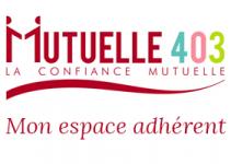 mutuelle 403 - espace adhérent