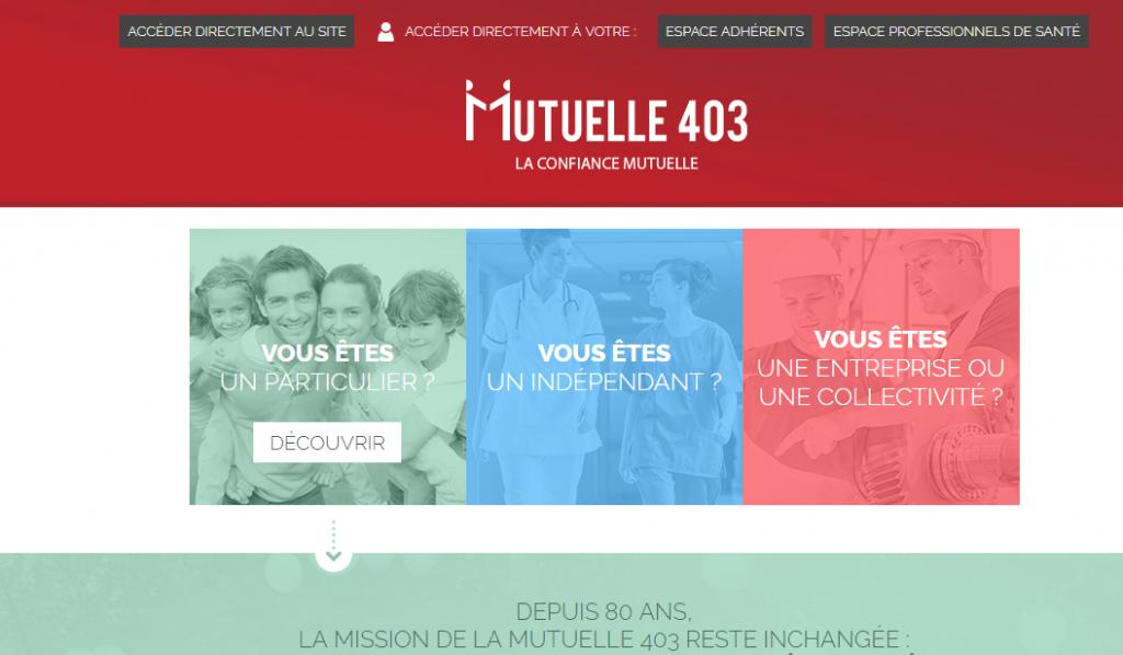 mutuelle403.fr