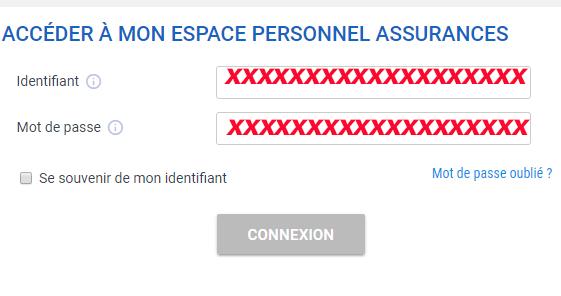 accès compte adhérent