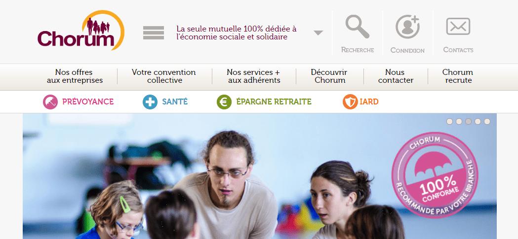 site chorum.fr