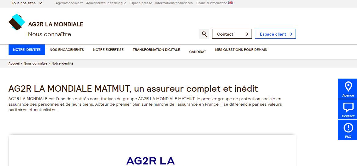 site ag2r
