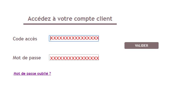 se connecter espace client