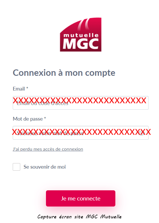 se connecter espace adherent mgc