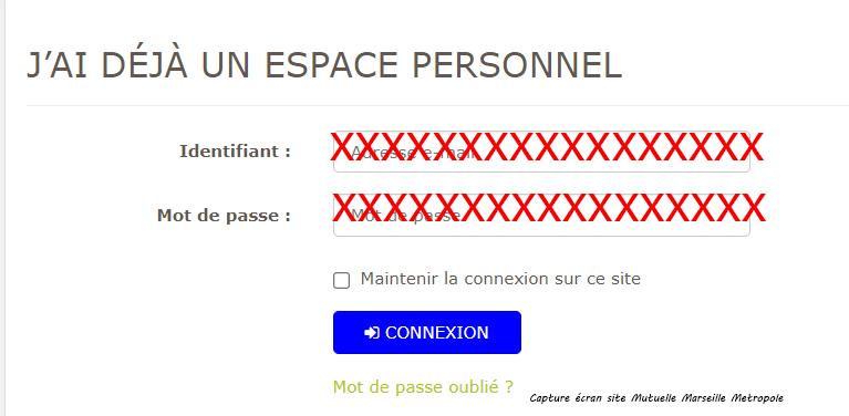 acces compte Mutuelle Marseille